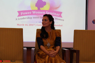 Dia Mirza Attends Power Women Seminar To Celete Womens Day 032.JPG