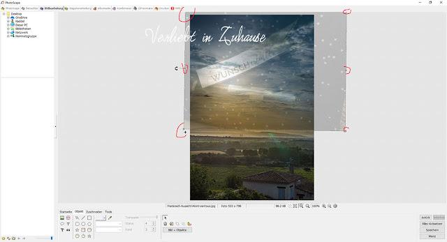 PhotoScape Anleitung und Schritt für Schritt mit Bilder-Tutorial: Objekt Größe verändern