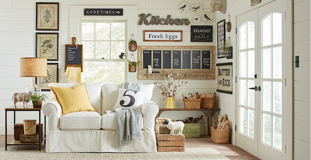 Love Thy Room Five Picture Perfect Rustic Farmhouse Living Rooms Each With One Element Inspired By Joanna Gaines,Lounge Beach Style Interior Design