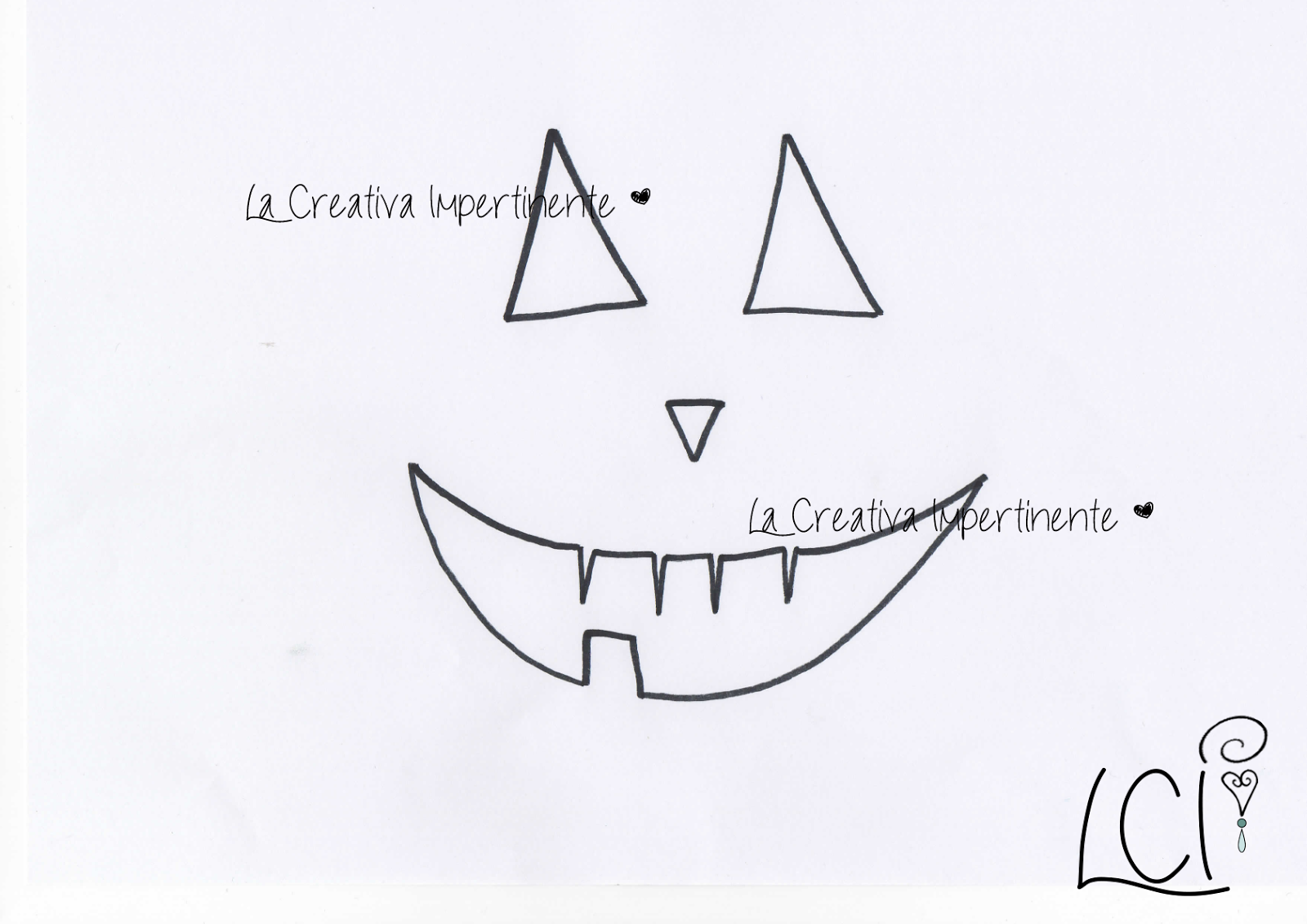 La Creativa Impertinente Idea Halloween