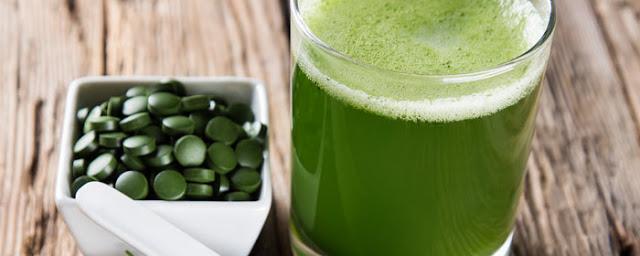 Algas en suplementos nutricionales