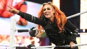 Becky Lynch Lass-Kicker entrance