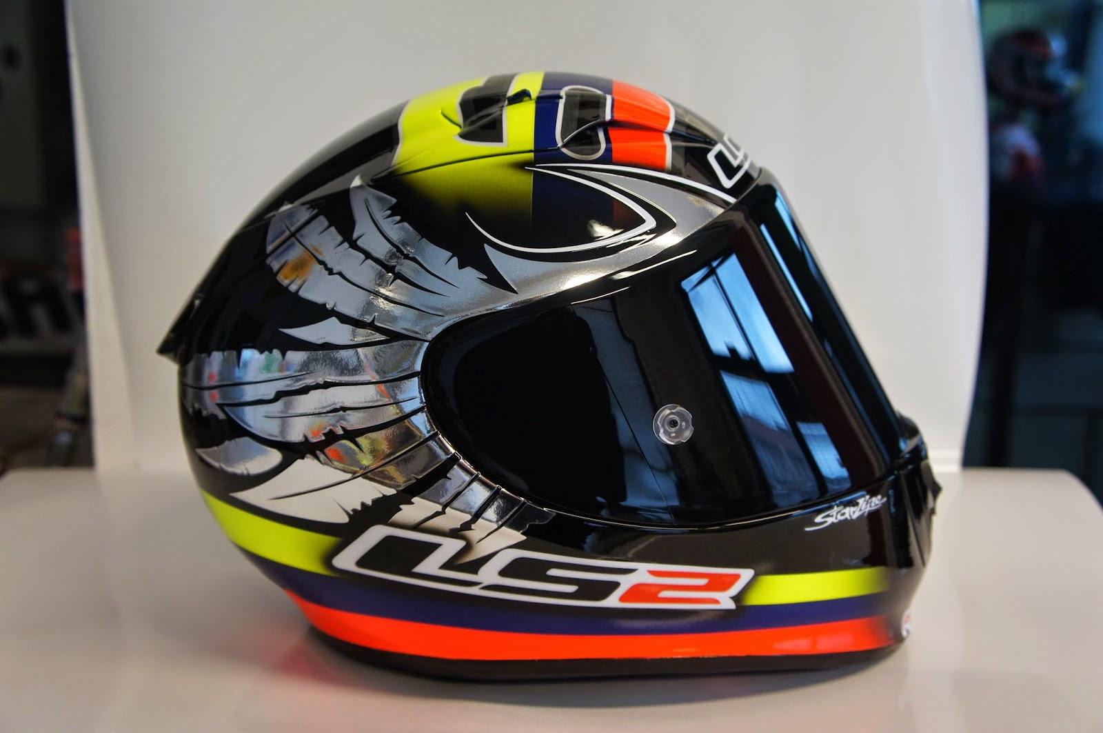 racing helmets garage ls2 ff323 arrow r y hernandez. Black Bedroom Furniture Sets. Home Design Ideas