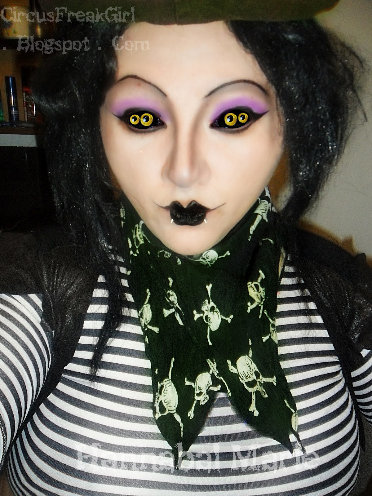 Hannabal Marie: Miss Spider Makeup Look