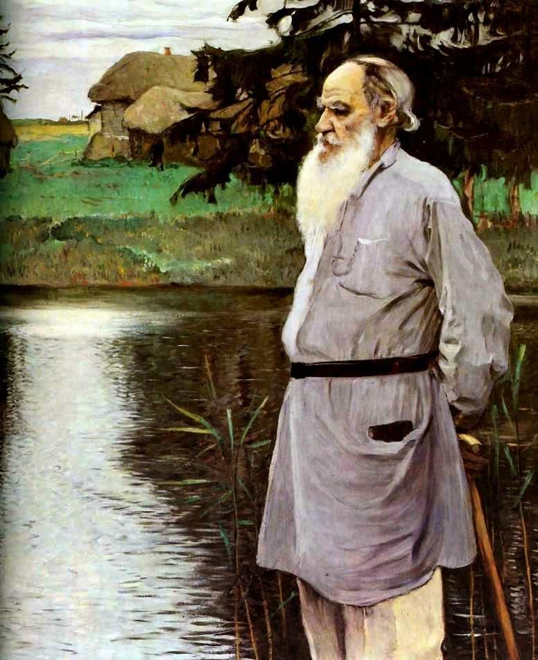 Tolstoy - Pinturas de Mikhail Nesterov - (Simbolismo) Russo