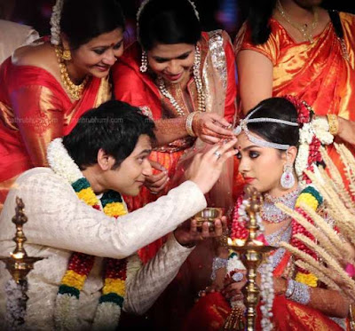Arathi Pillai and Adithya Marriage rituals