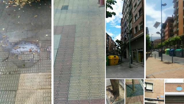 Estado de la avenida Miranda en contraste con otras calles