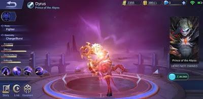 Pangeran Dari Abyss Dyrus Hadir Di Mobile Legends