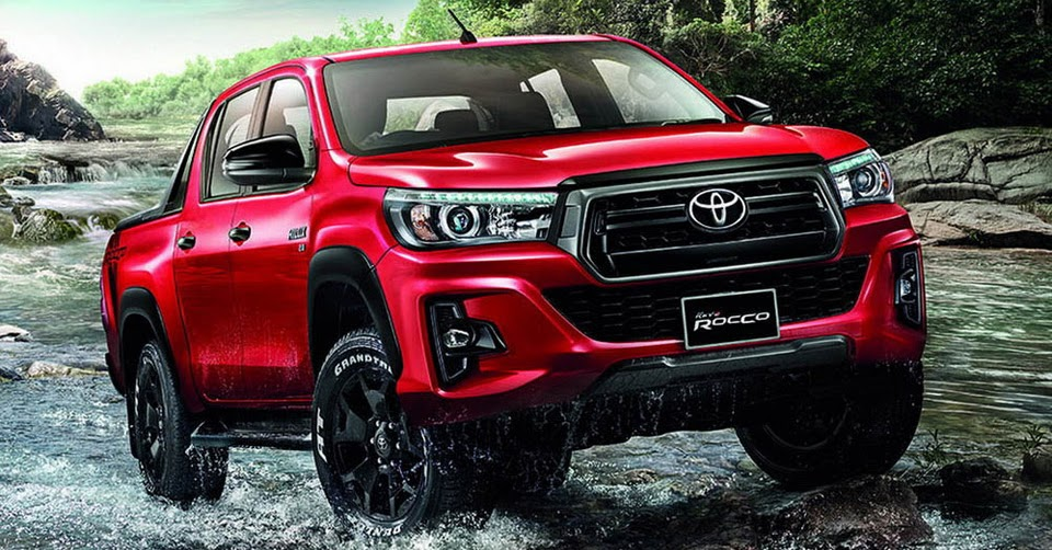 toyota hilux goes to thailand for a rugged facelift. Black Bedroom Furniture Sets. Home Design Ideas