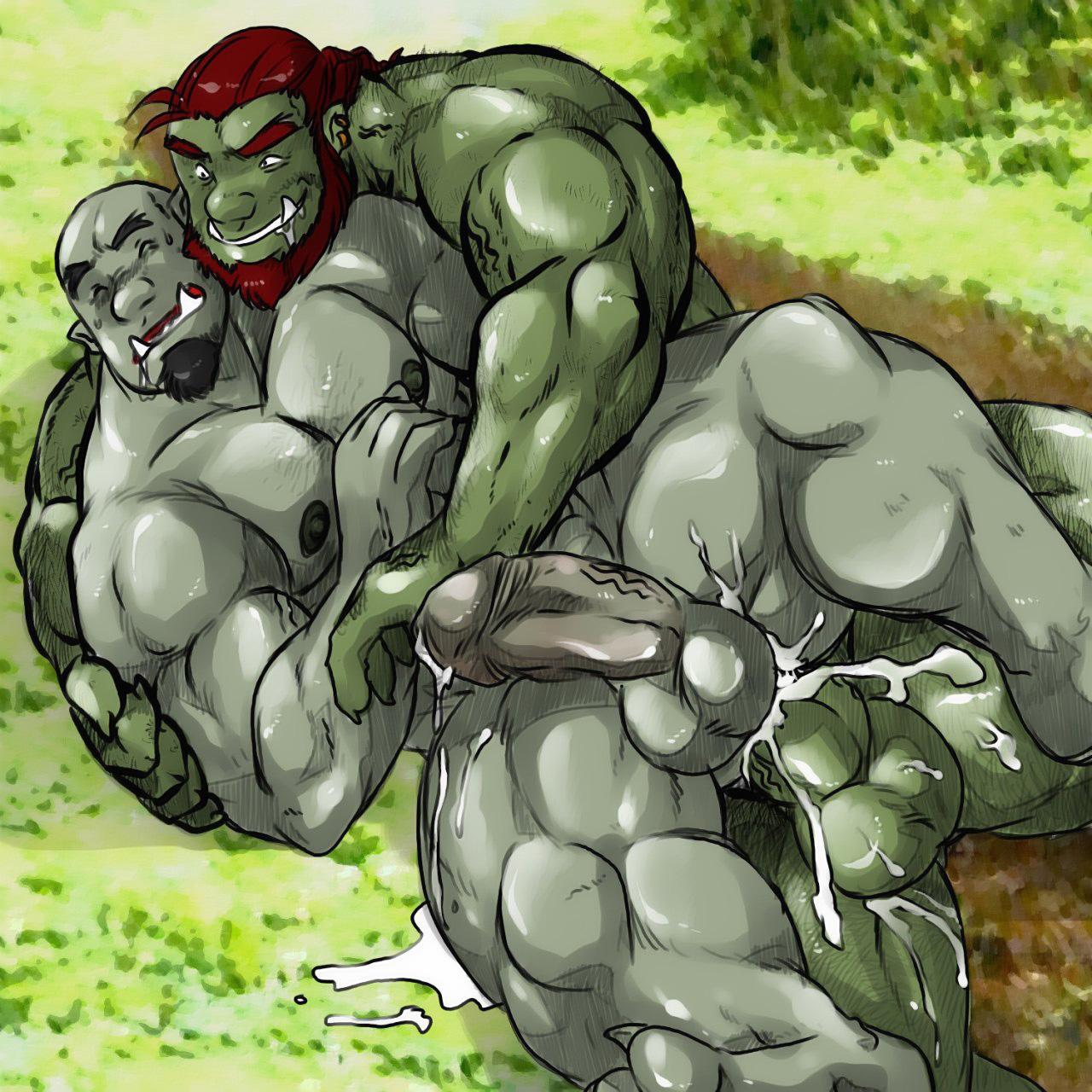 Gay Orc Porn