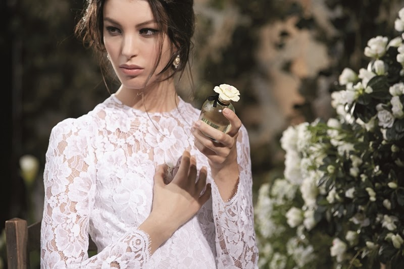 Kate King, Delicately Seduced by, Dolce, Dolce Floral Drops, Valentine's Day, Dolce & Gabbane Fragrance
