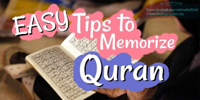 TIPS HOW TO MEMORIES THE QURAN