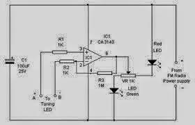 Simple Over-Current Indicator Circuit Diagram