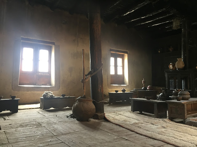 Old preserved Kitchen in Leh