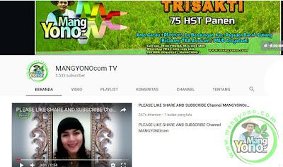 Channel MANGYONOcom TV 5.533 Subscriber.