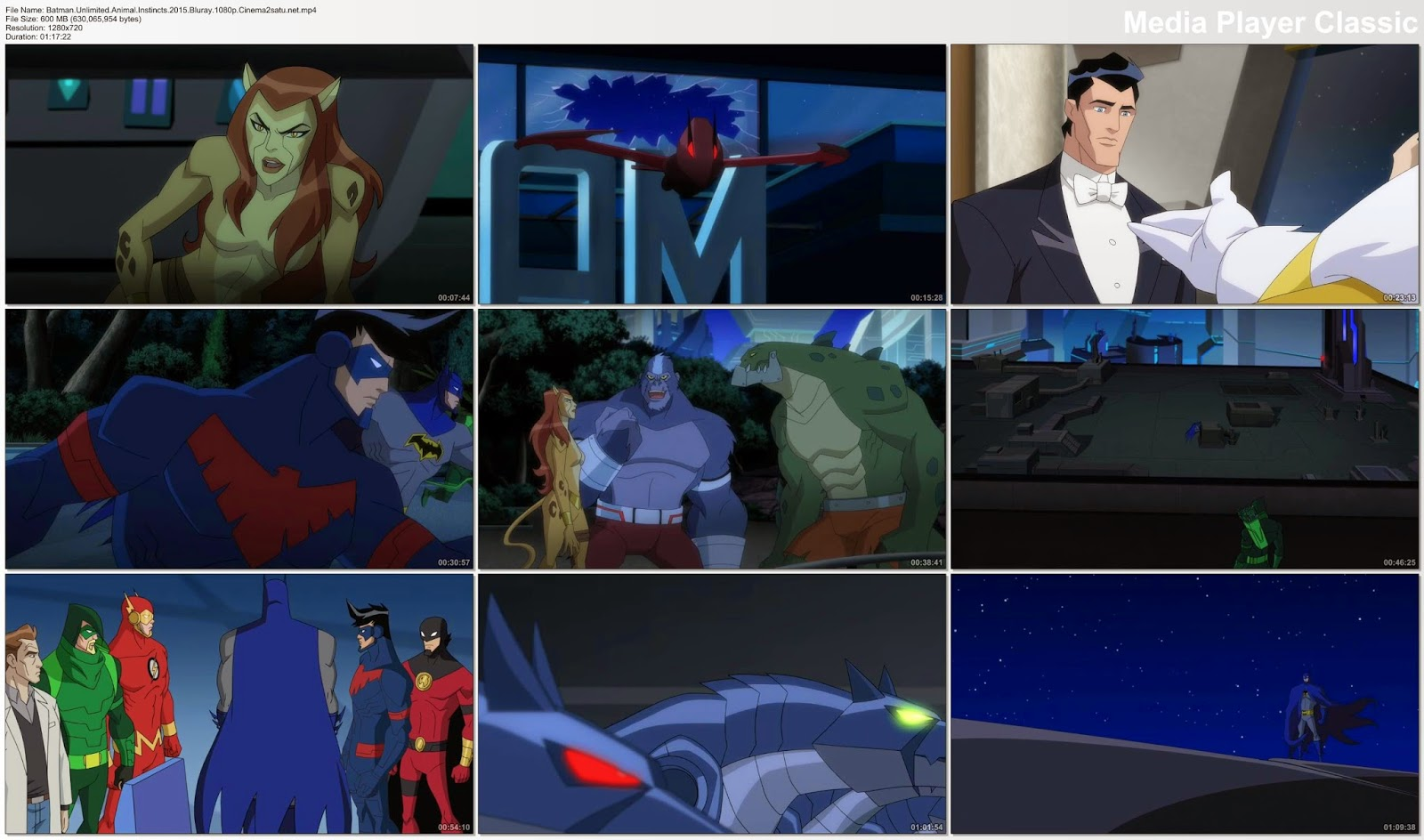 Batman Unlimited Animal Instincts 2015 Bluray 720p