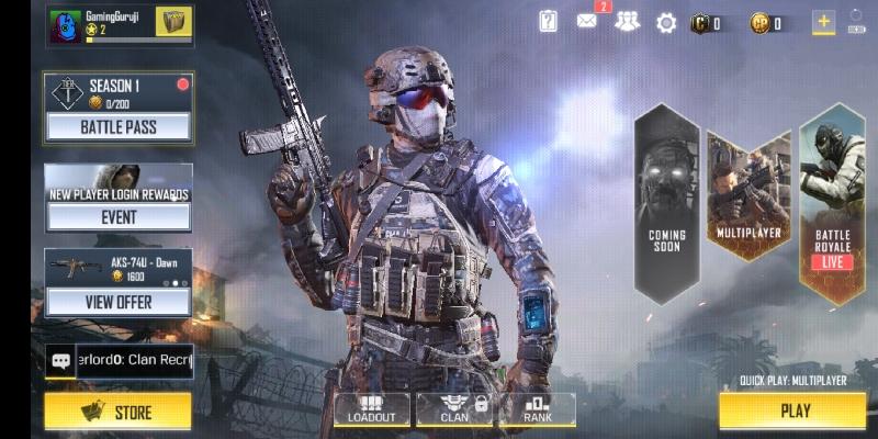 Call of duty mobile game screenshot 2
