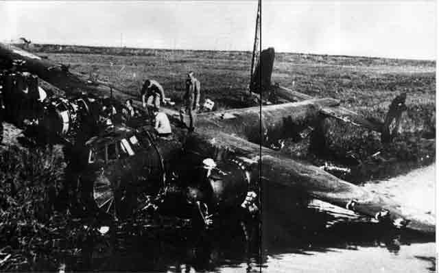 Dornier Do-217 crash site in Rye, England, 12 October 1941 worldwartwo.filminspector.com