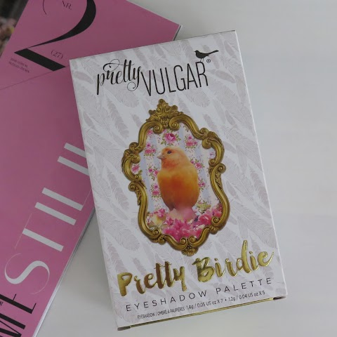 Pretty Vulgar Throwing Shade: Pretty Birdie Eyeshadow Palette