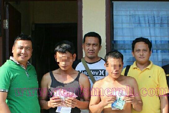Memalak Sopir, Dua Preman Tanggamus Ditangkap Polisi