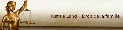 Bienvenue sur Justitia Land, blog sur le droit de la famille