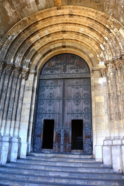 Lisbon Cathedral entry portal