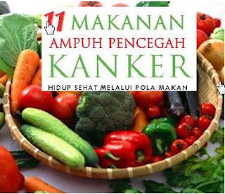 Makanan Untuk mencegah Kanker