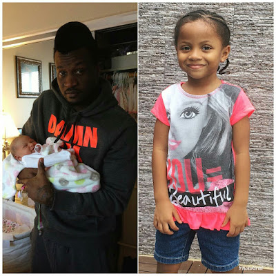 Peter Okoye and wife, Lola celebrate daughter's 5th birthday with loads of love (Photos)