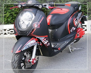 modifikasi scoopy road race modifikasi scoopy 2016