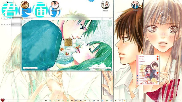 Kimi ni Todoke Theme Win 7 by Andrea_37