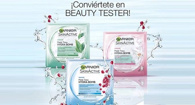 Beauty tester garnier