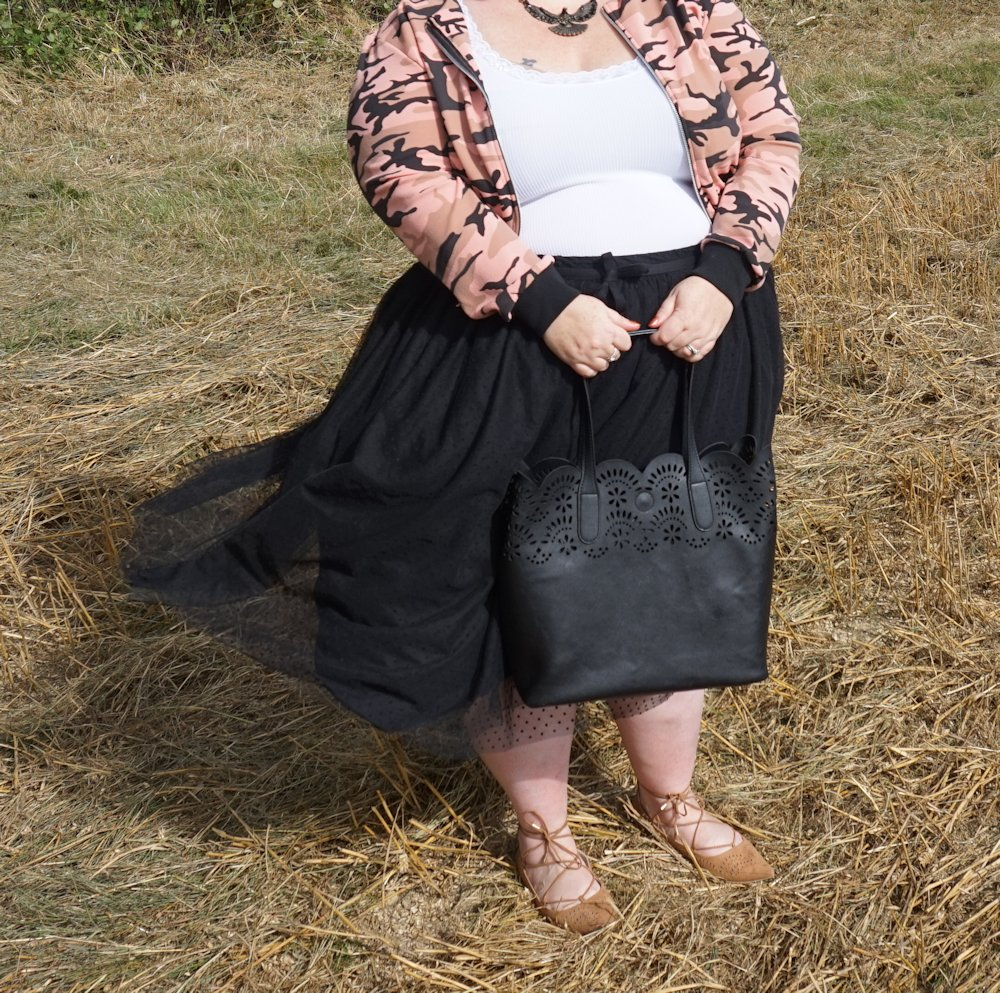 Boohoo-Plus-Dina-camo-print-bomber-cropped-jacket-military-trend-plus-size www.xloveleahx.co.uk