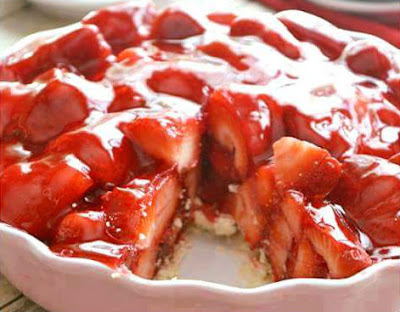 Best Strawberry Pie Ever
