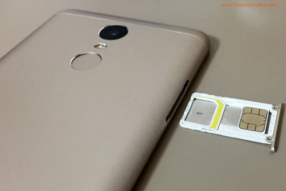 How To Inset Sim In Redmi Note 3 3s