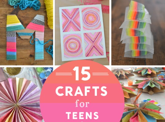 14 Fun Crafts For Teens You Should Know