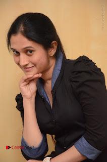Telugu Actress Priyanka Pallavi Stills in Micro Mini Skirt at Nenosthaa Movie Song Launch at Radio City  0031.JPG