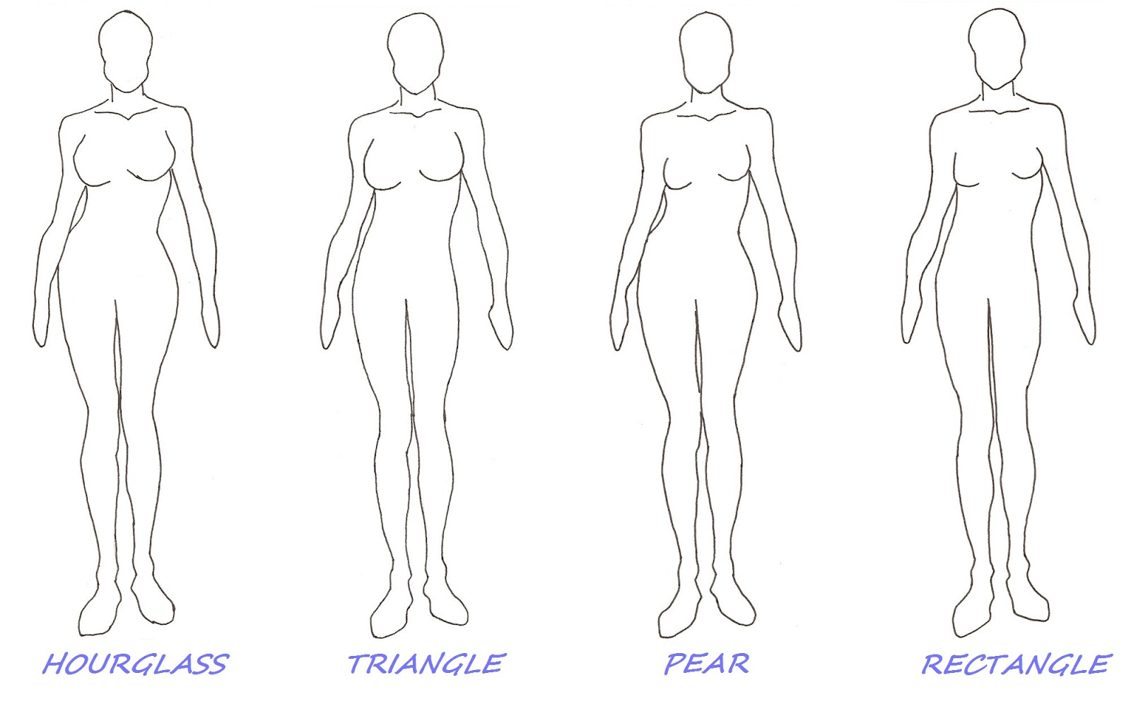 Body Template For Designing Clothes How To Dress Your Shape Part 2 Latest Fashion Trends