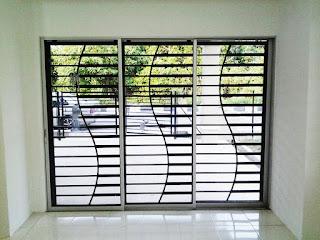 Choose A Model Home Door Window Minimalist Trellis