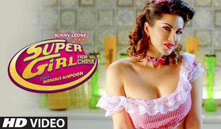 Super Girl by Sunny Leone