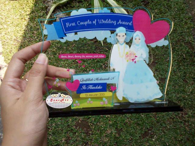 kado pernikahan unik untuk teman