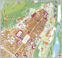 Cuneo Map. Piedmont, Italy.