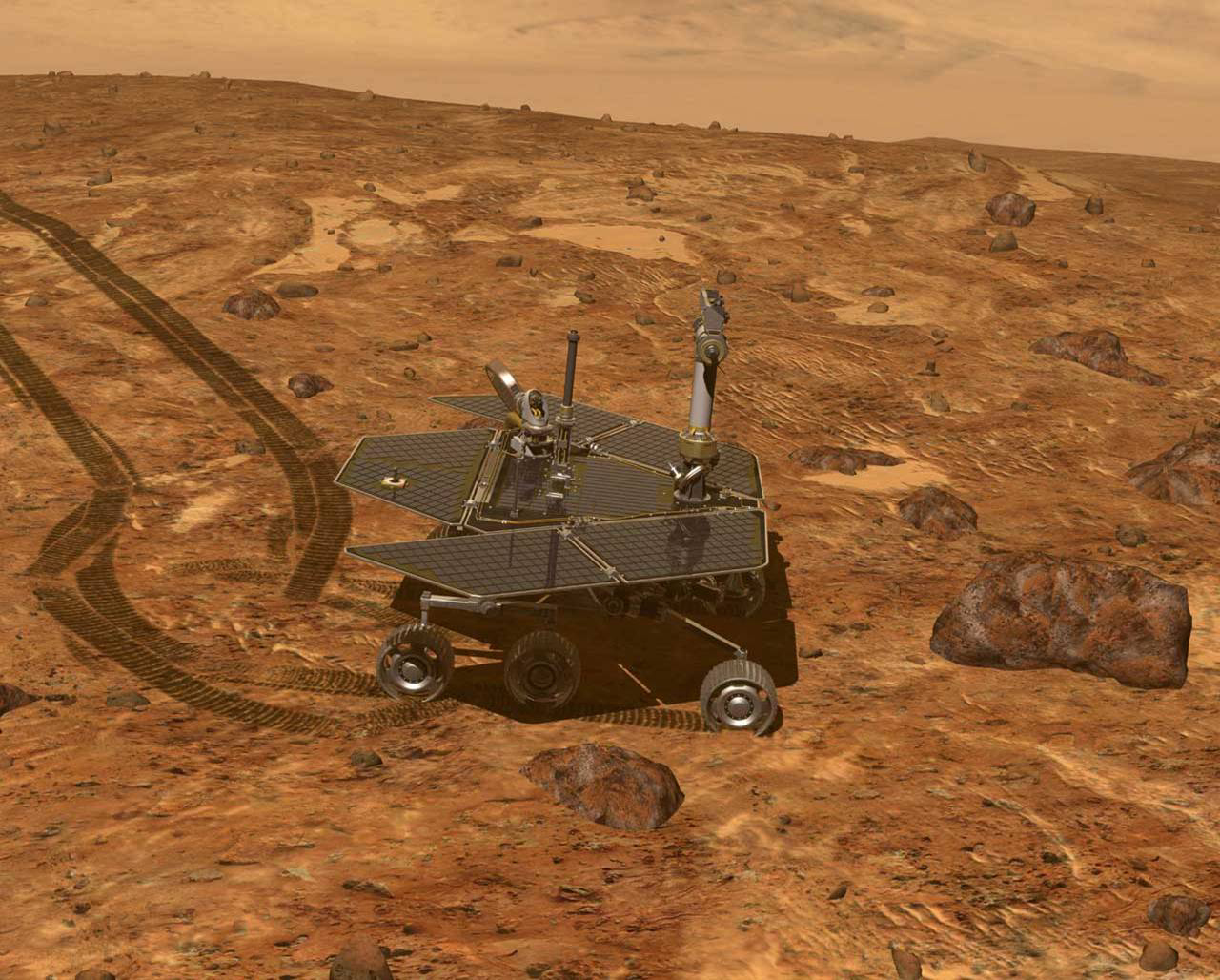 Mars Rover Pics about space
