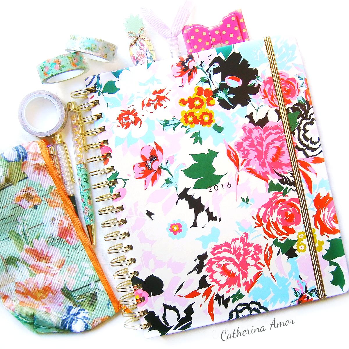 Bando Agenda Floral Planner