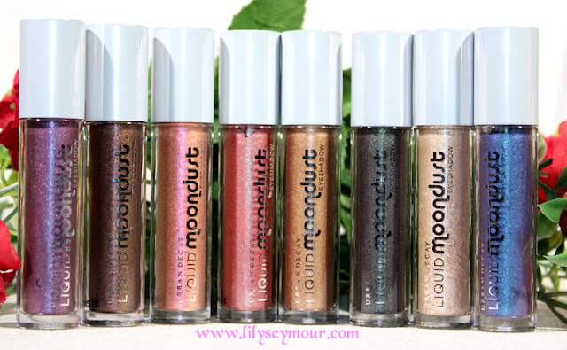 Urban Decay Liquid Moondust Eyeshadows