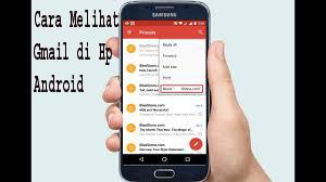 Cara Melihat Gmail di Hp Android 1