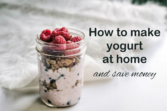 How to make yogurt at home and save money.
