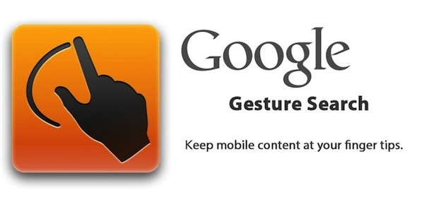 Google Gesture Search Android App