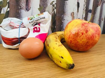 Przysmaki dla psa jabłkowe i bananowe