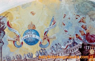 Pałac w Luboradzu - ciąg reprezentacyjny i dekoracja malarska