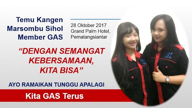 Acara Temu Kangen - Marsombu Sihol Keluarga Besar GAS